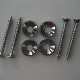Chrome Neck Mounting Ferrules