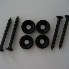 Black Neck Mounting Ferrules